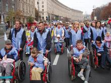 Demonstration of People with Disabilities